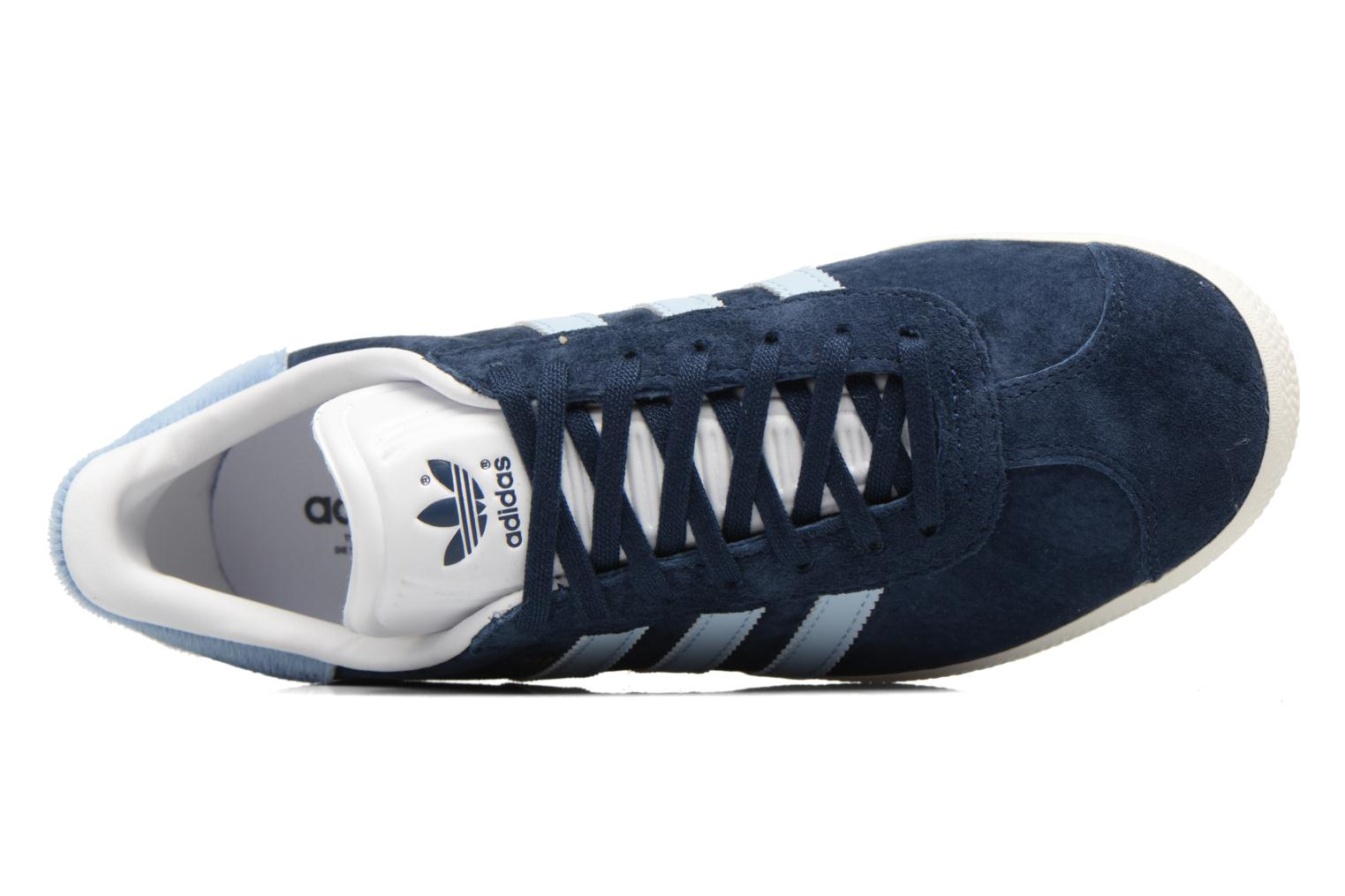 Baskets Adidas Originals Gazelle W Bleu vue gauche