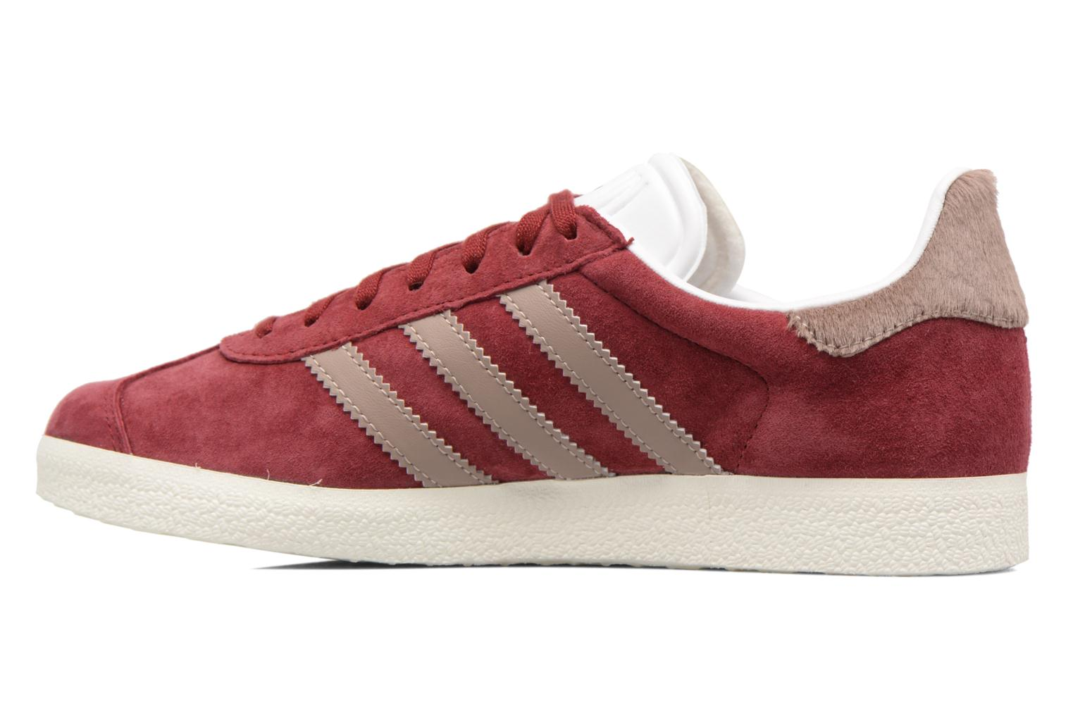 Baskets Adidas Originals Gazelle W Bordeaux vue face
