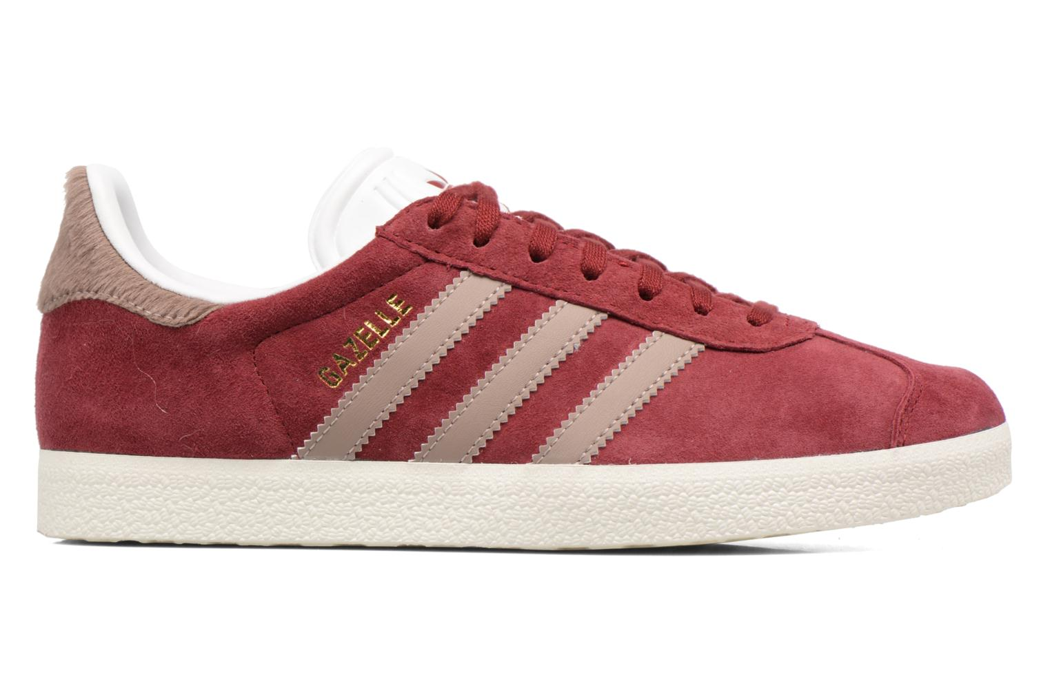 Baskets Adidas Originals Gazelle W Bordeaux vue derrière
