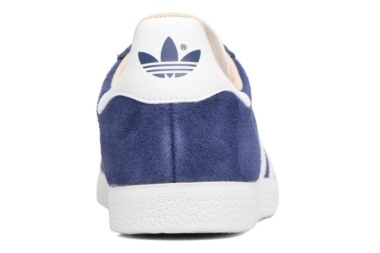 Sneakers Adidas Originals Gazelle W Blauw rechts