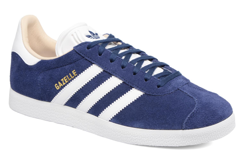 Sneakers Adidas Originals Gazelle W Blauw detail