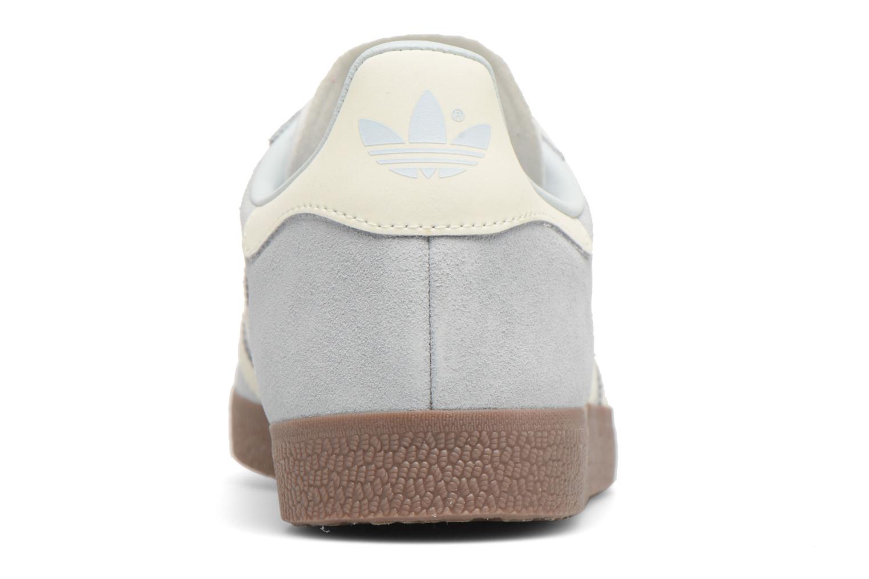 Baskets Adidas Originals Gazelle W Bleu vue droite