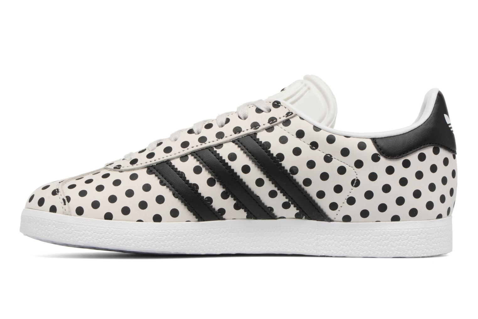 Baskets Adidas Originals Gazelle W Gris vue face