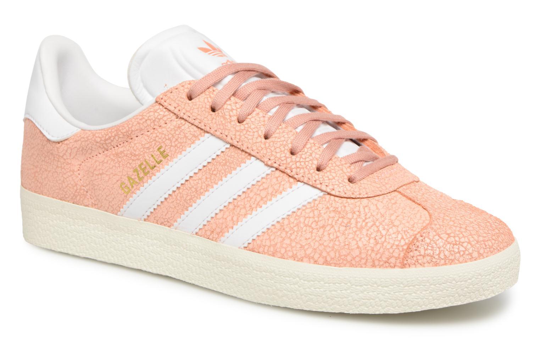 adidas lässige Damen Schuhe Originals Gazelle Sneaker Orange | B2B