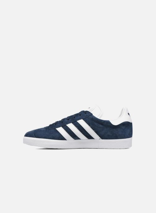 Baskets adidas originals Gazelle Bleu vue face