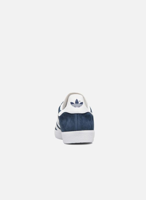 Trainers adidas originals Gazelle Blue view from the right