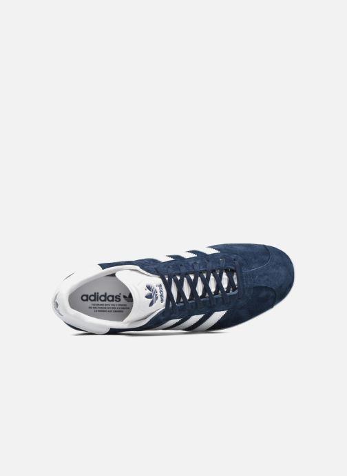 Baskets adidas originals Gazelle Bleu vue gauche