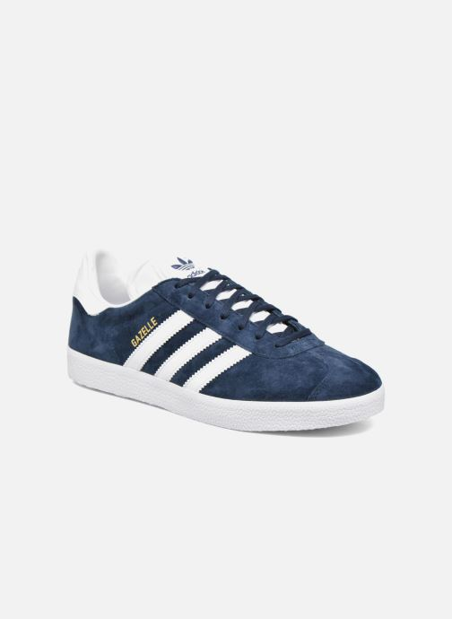 Trainers adidas originals Gazelle Blue detailed view/ Pair view