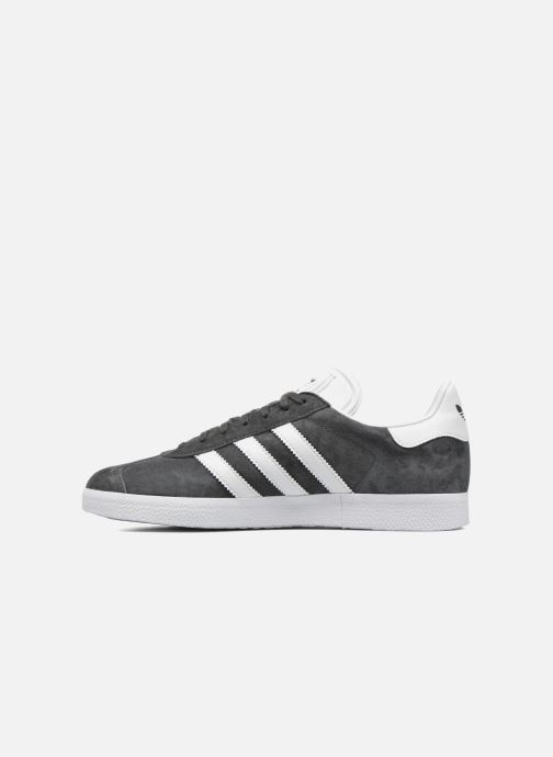 Sneakers adidas originals Gazelle Grijs voorkant