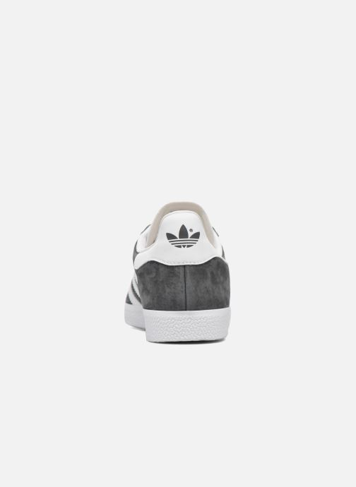 Baskets adidas originals Gazelle Gris vue droite