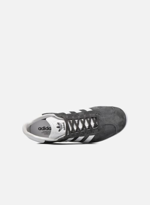 Baskets adidas originals Gazelle Gris vue gauche