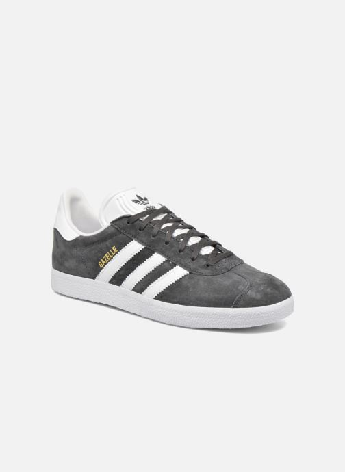 Trainers adidas originals Gazelle Grey detailed view/ Pair view