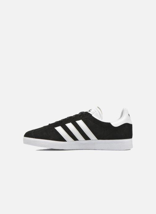 Sneakers adidas originals Gazelle Zwart voorkant