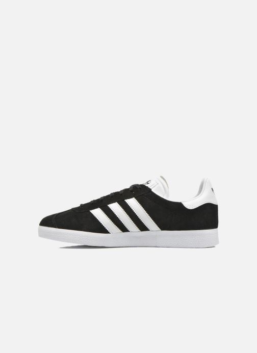 Sneaker adidas originals Gazelle schwarz ansicht von vorne