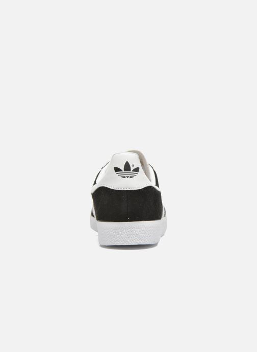 Baskets adidas originals Gazelle Noir vue droite
