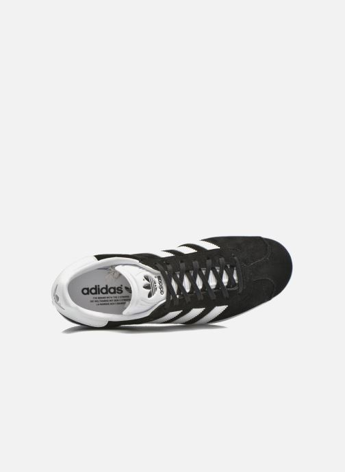 Sneakers adidas originals Gazelle Nero immagine sinistra
