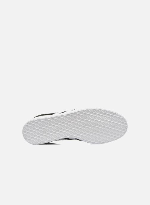 Sneaker adidas originals Gazelle schwarz ansicht von oben