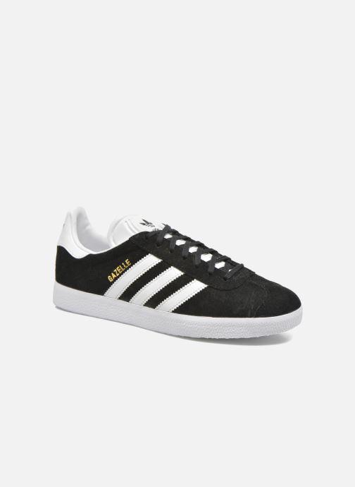 reputable site 4d95e f72d2 Baskets adidas originals Gazelle Noir vue détail paire. Baskets adidas  originals Gazelle Noir vue portées chaussures