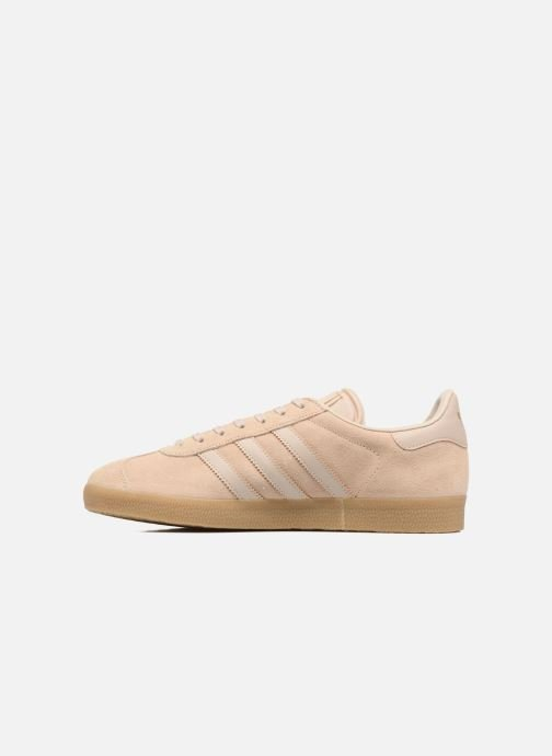 Baskets adidas originals Gazelle Beige vue face