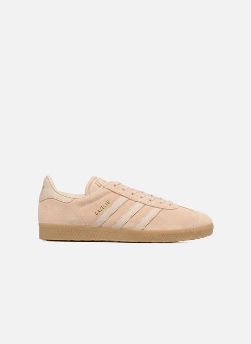Baskets adidas originals Gazelle Beige vue derrière