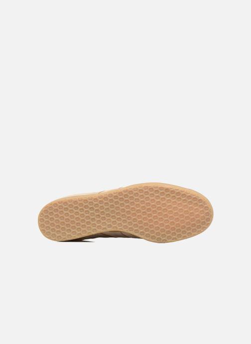 Sneakers Adidas Originals Gazelle Beige immagine dall'alto