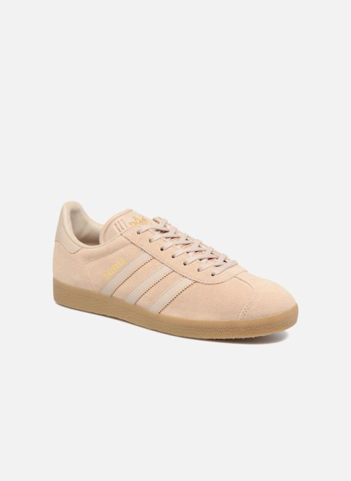 Baskets adidas originals Gazelle Beige vue détail/paire