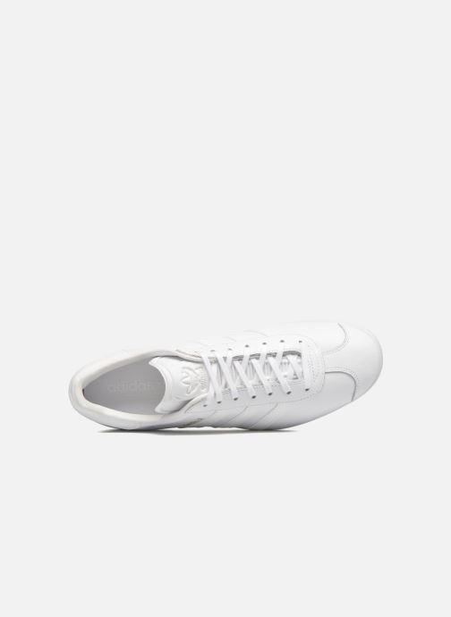 Baskets adidas originals Gazelle Blanc vue gauche