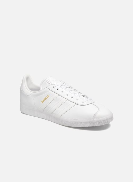 Baskets adidas originals Gazelle Blanc vue détail/paire