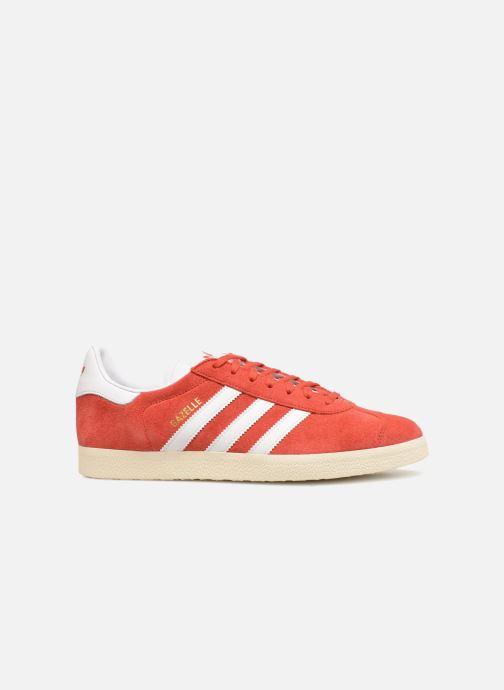 Sneaker Adidas Originals Gazelle rot ansicht von hinten