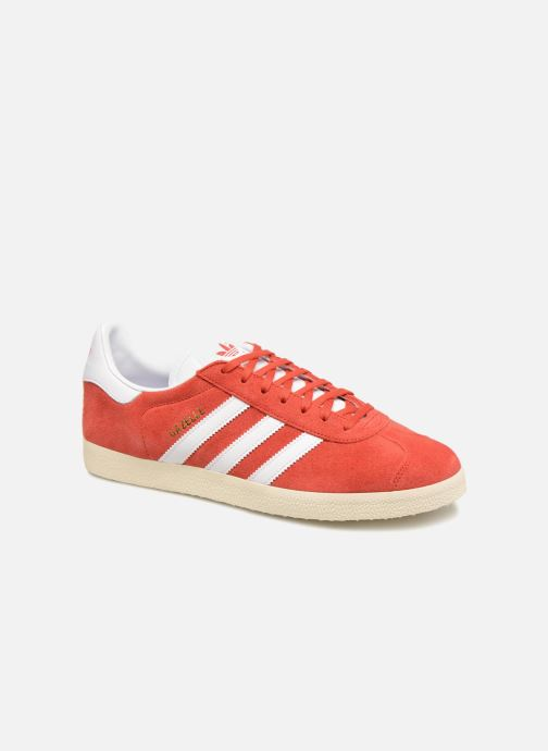 Deportivas adidas originals Gazelle Rojo vista de detalle / par