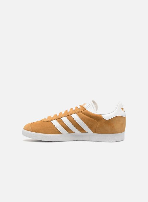 Baskets adidas originals Gazelle Marron vue face
