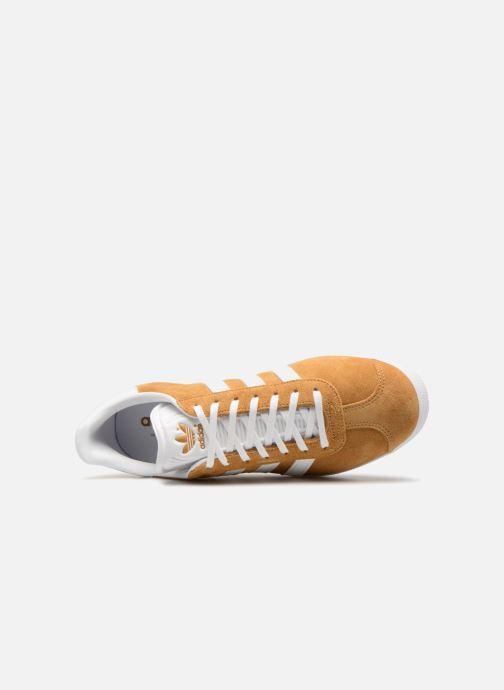 Baskets adidas originals Gazelle Marron vue gauche