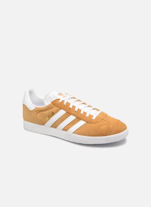 Baskets adidas originals Gazelle Marron vue détail/paire