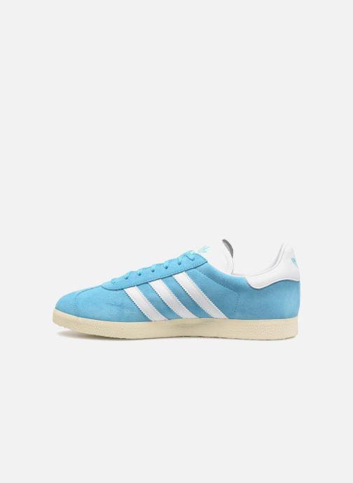 Trainers Adidas Originals Gazelle Blue front view