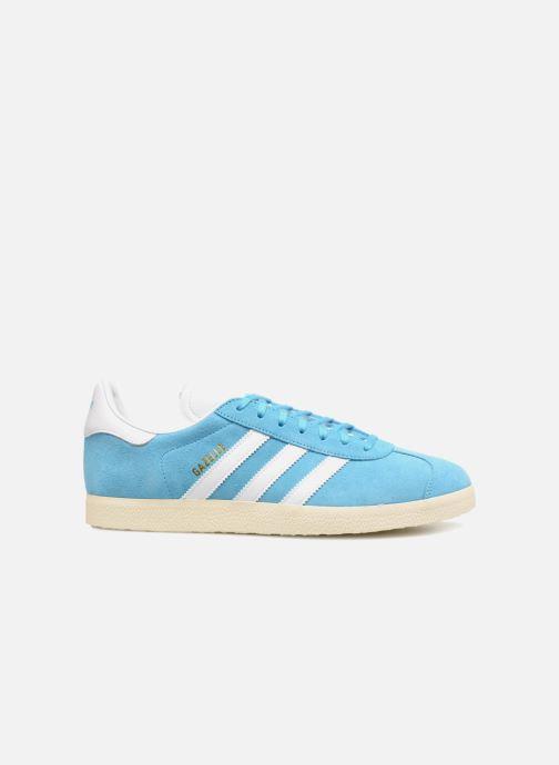 Trainers Adidas Originals Gazelle Blue back view