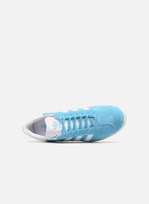 Trainers Adidas Originals Gazelle Blue view from the left