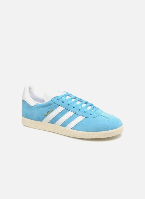 Baskets adidas originals Gazelle Bleu vue détail/paire
