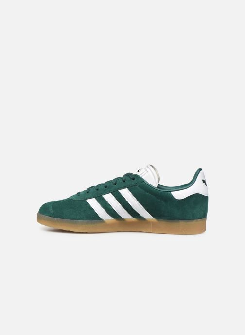 Trainers adidas originals Gazelle Green front view