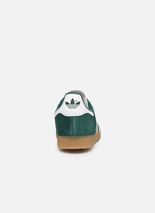 Trainers adidas originals Gazelle Green view from the right