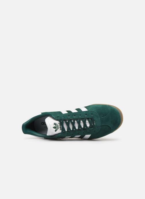 Baskets adidas originals Gazelle Vert vue gauche