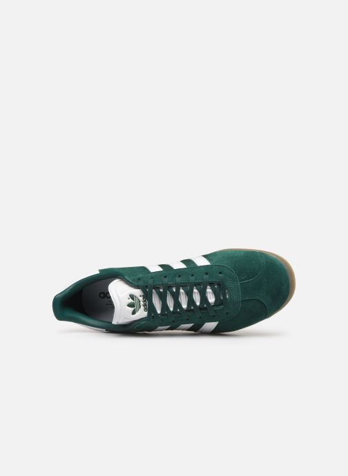 Trainers adidas originals Gazelle Green view from the left