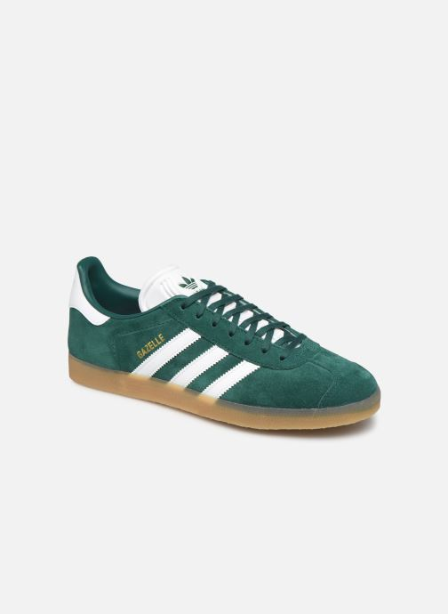 Trainers adidas originals Gazelle Green detailed view/ Pair view