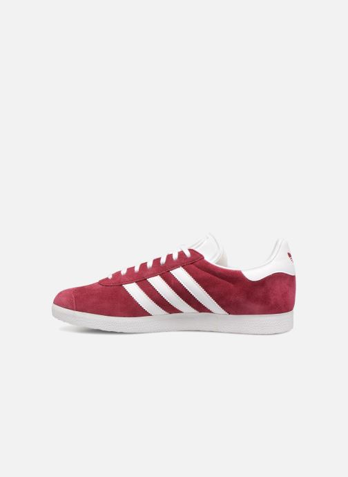 Baskets adidas originals Gazelle Bordeaux vue face