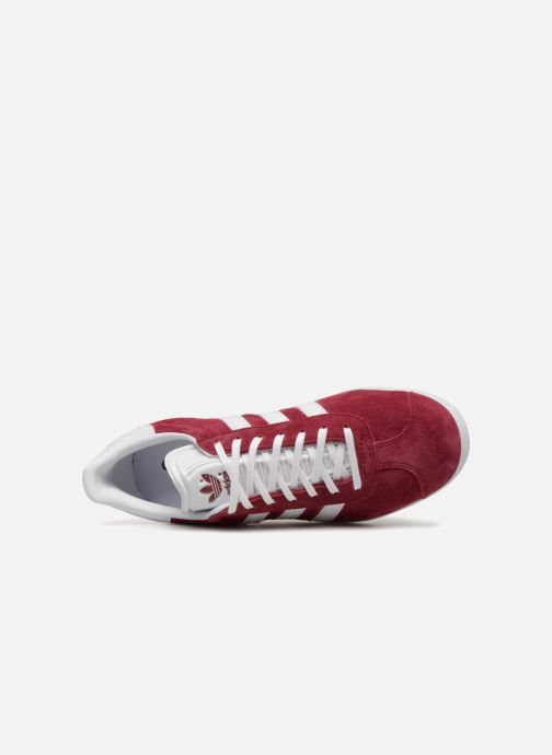 Baskets adidas originals Gazelle Bordeaux vue gauche