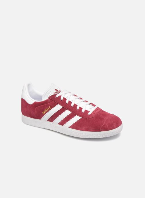 Baskets adidas originals Gazelle Bordeaux vue détail/paire