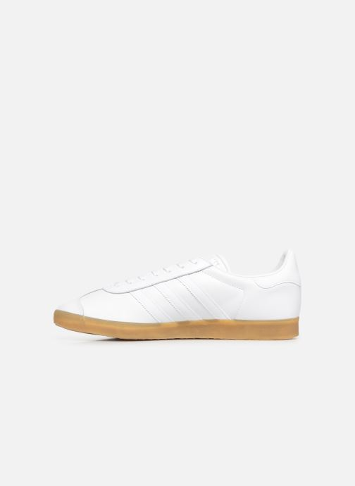 Trainers Adidas Originals Gazelle White front view