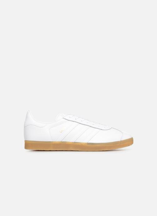 Sneakers adidas originals Gazelle Vit bild från baksidan
