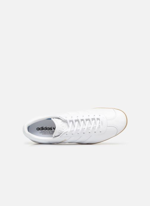 Trainers Adidas Originals Gazelle White view from the left