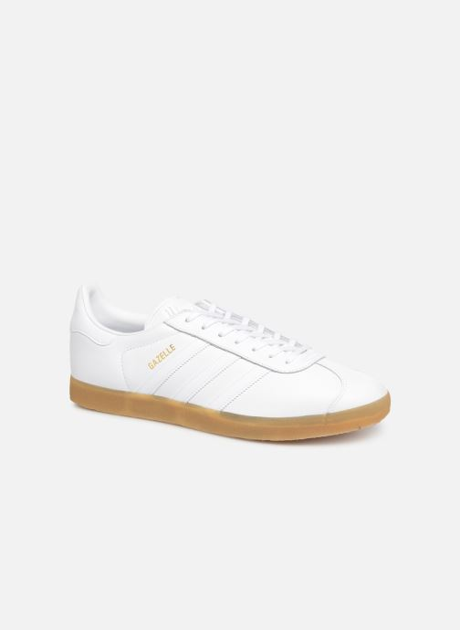 Baskets adidas originals Gazelle Blanc vue détail/paire