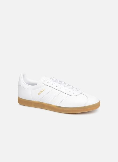 Trainers Adidas Originals Gazelle White detailed view/ Pair view